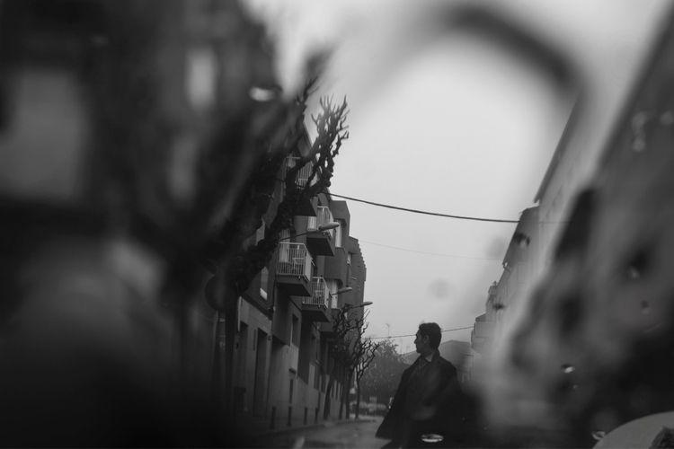 art, photography, bw, man - norikosykess | ello