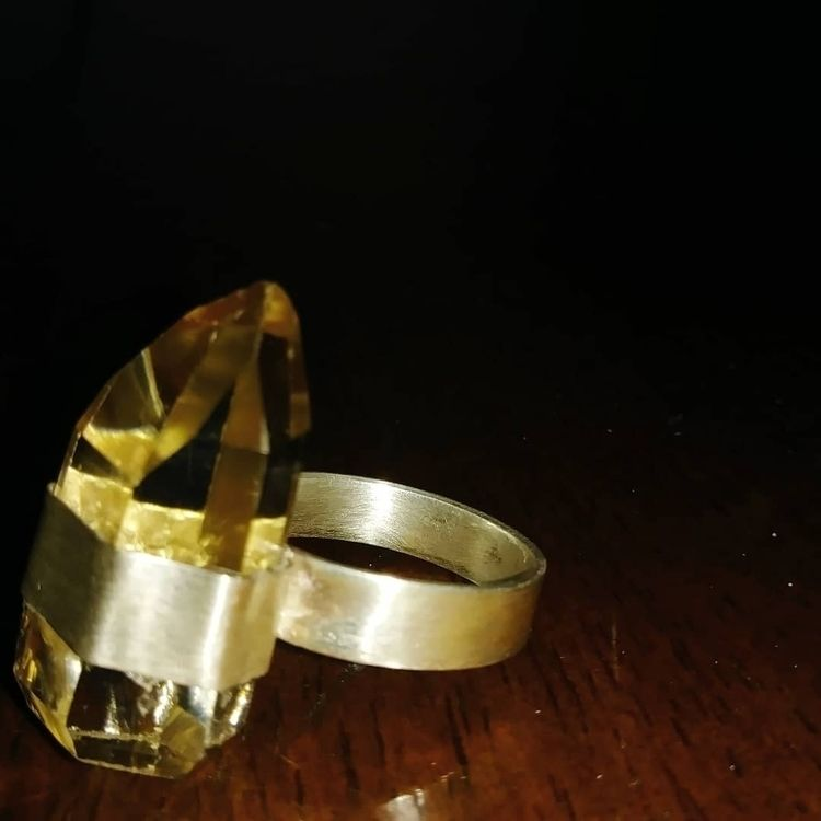 Hand Crafted Citrine Sterling S - edgychola | ello