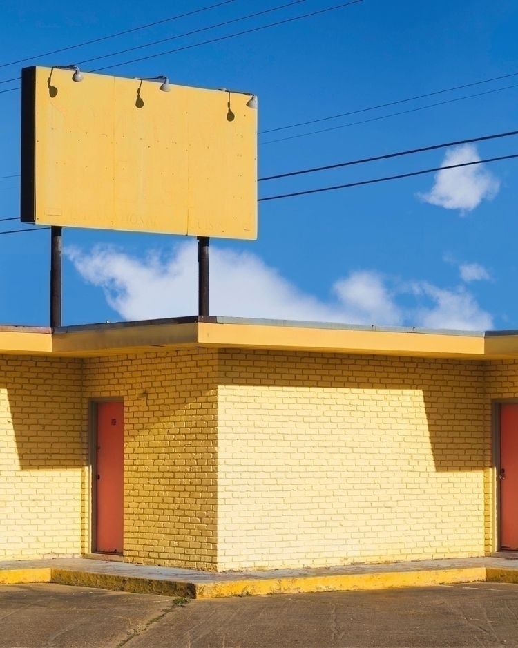 Motel website - yellow, minimalism - thesoggyblanket | ello