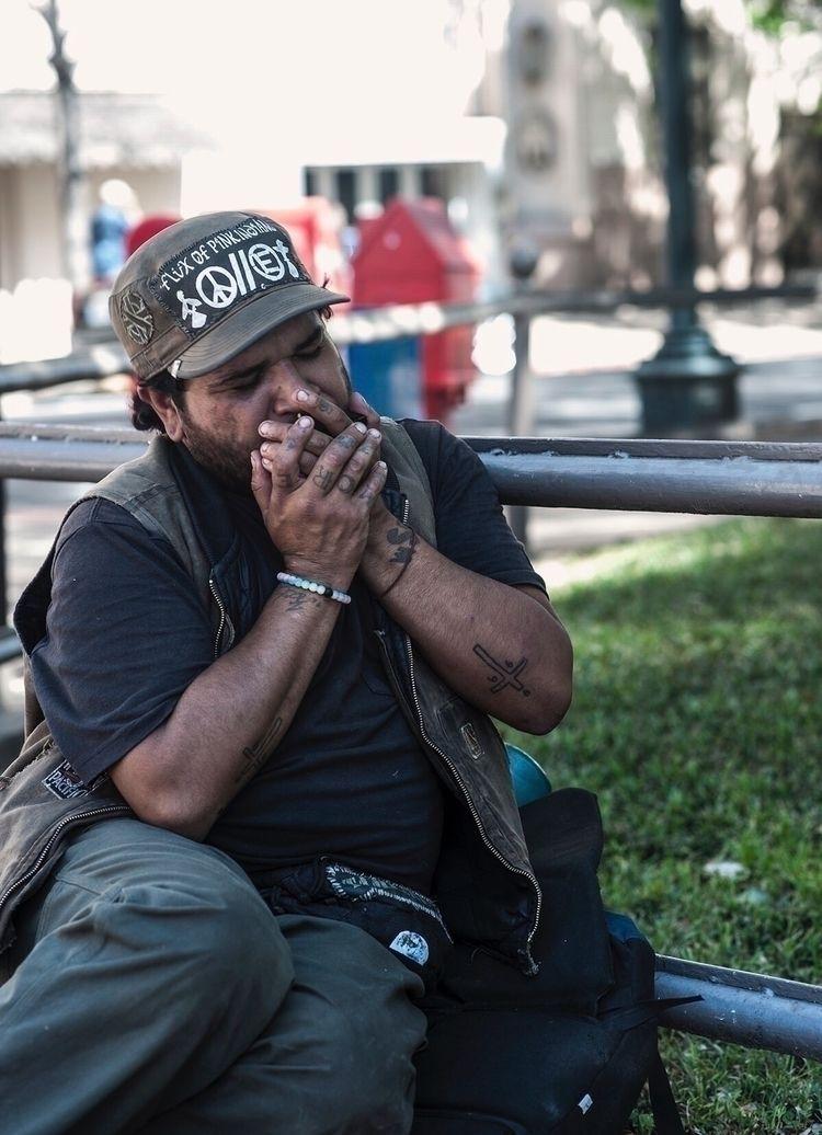 Harmonicaman - harmonica, street - thephotoshock | ello