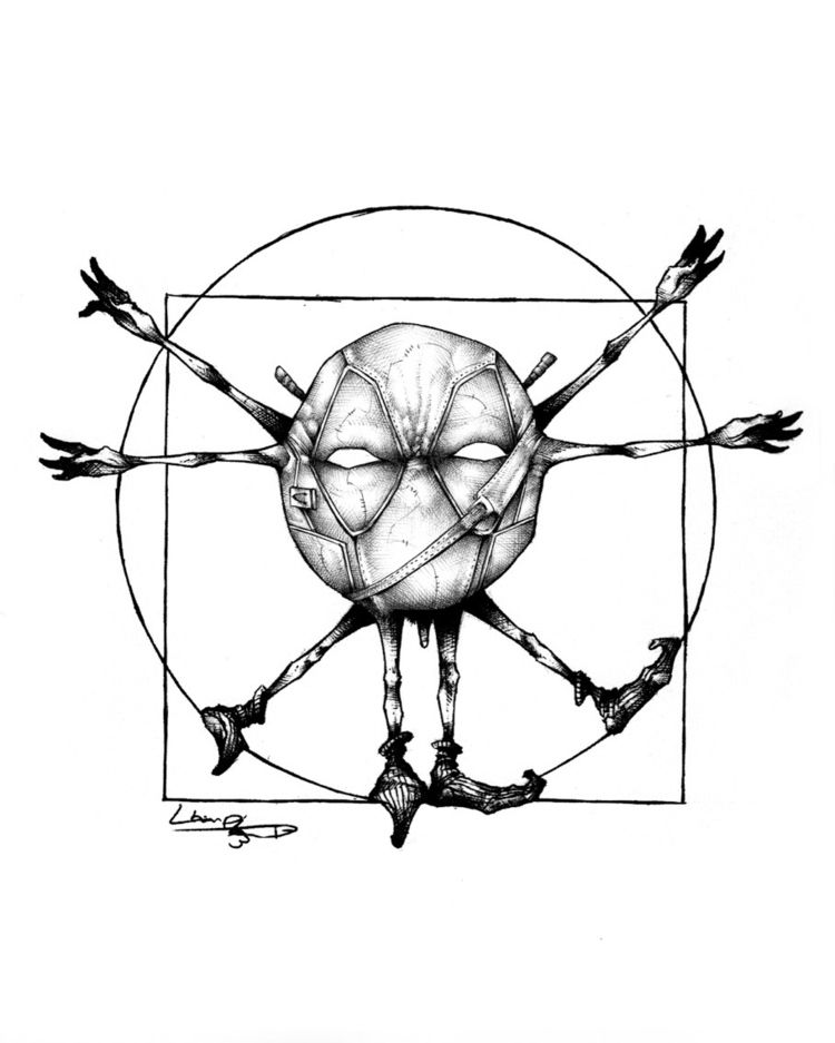 Anatomy Smiley: Deadpool Store - tlamph | ello