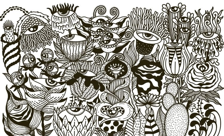 illustration, art, drawing, blackandwhite - alicecquaglia | ello