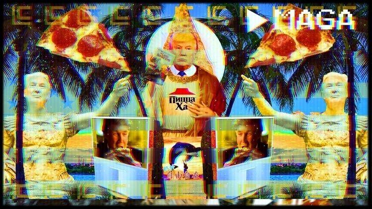 vaporwave, thedonald, retrowave - xenomorph8472 | ello
