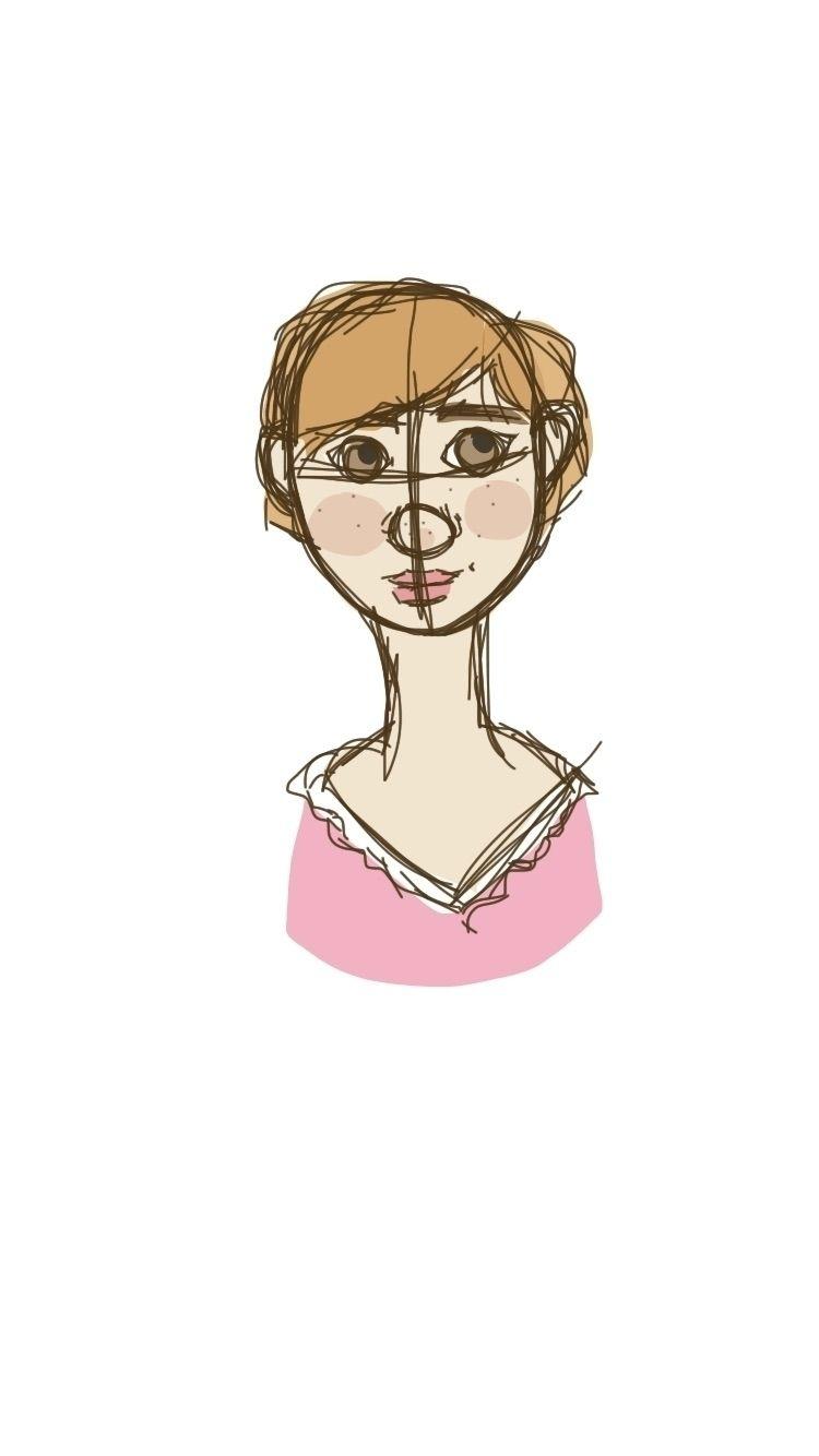 Kind digital portrait :grimacin - finncrow | ello