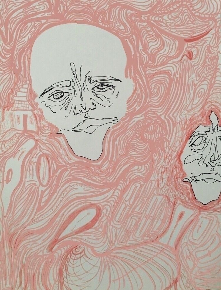 Paradise Circus - pastel, ink, illustration - bbyblue | ello