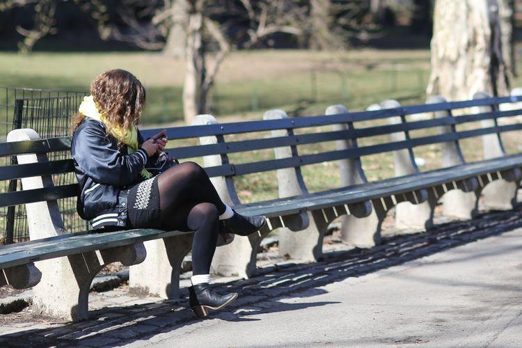 Phone Check woman checking phon - kevinrubin | ello