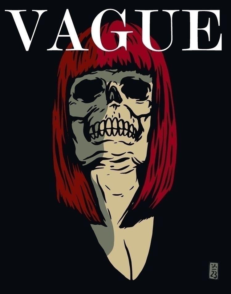 Vague, Drop Dead Gorgeous - illustration - thomcat23 | ello