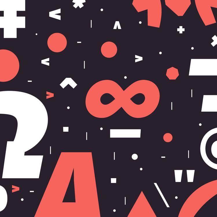 Typographic Confetti inspired b - sofiasantos | ello