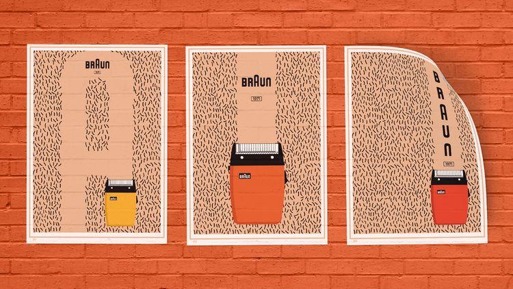 retro poster designs - jedstening | ello