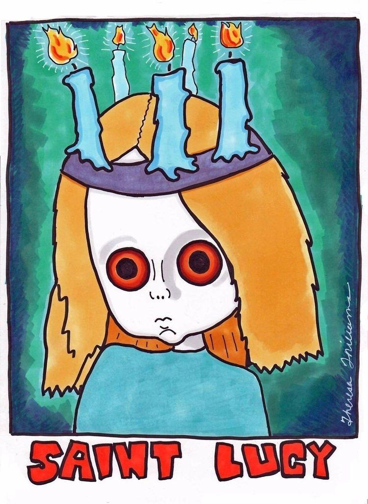 Saint Lucy - comics, graphicnovel - theresa_williams | ello