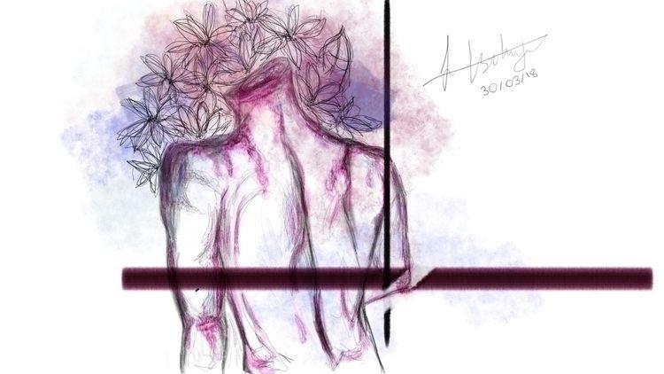 Flower Boy Headless flowers bea - jannatli | ello