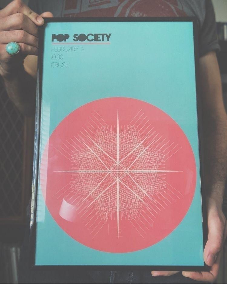 Pop Society flyer 11x17.  - design - amirefendi | ello