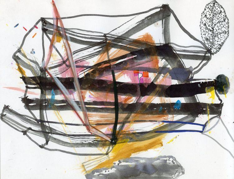 mixed media paper, 8.5 11 - drawing - homare | ello