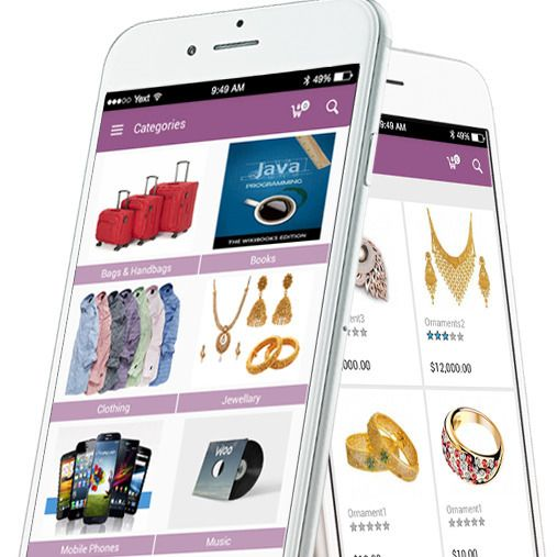 WooCommerce App Builder Stores  - vootouch | ello