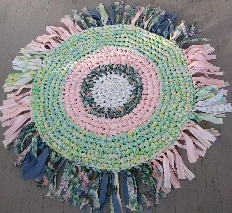 SOLD... Handmade Crochet Eco Ra - maryherrigfiberarts | ello
