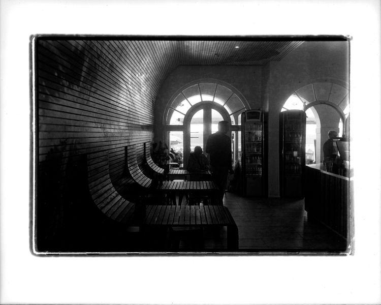 Bondi Cafe - blackandwhite, streetphotography - michaelfinder | ello