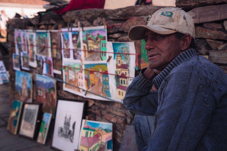 Romulo, artista de rua - felipefritiz | ello