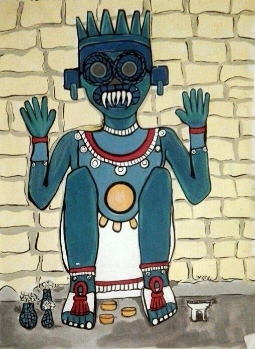 El verdadero altar de Tlaloc su - mone_ | ello