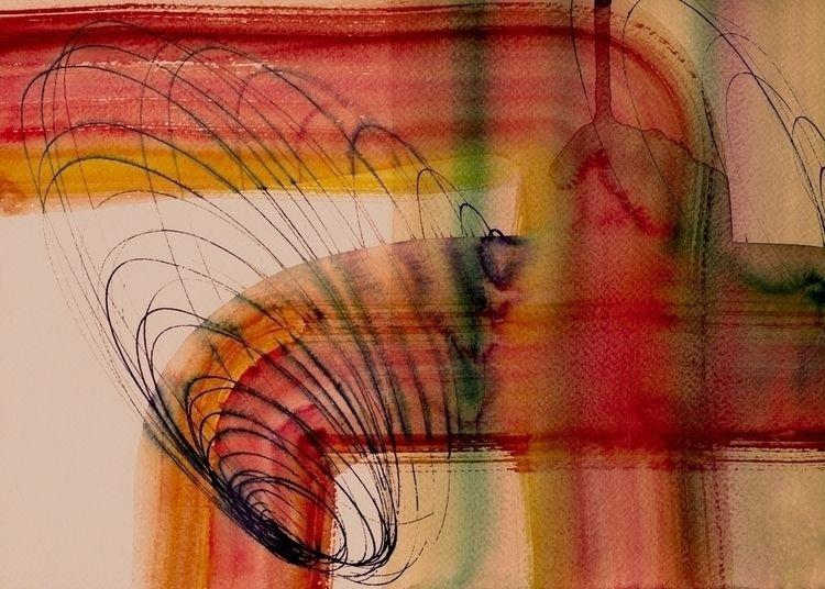 Nest 12 paper, watercolor, ink  - istvanocztos | ello