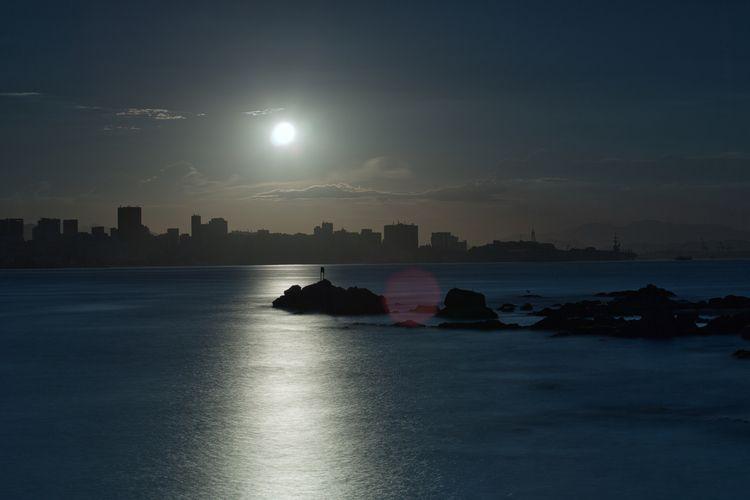 full moon fill town - fernandoandrade_tl | ello