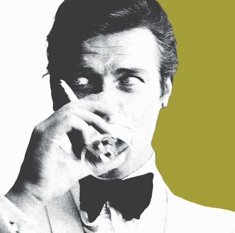 Sexy Roger Moore...007 screenpr - michibroussard | ello