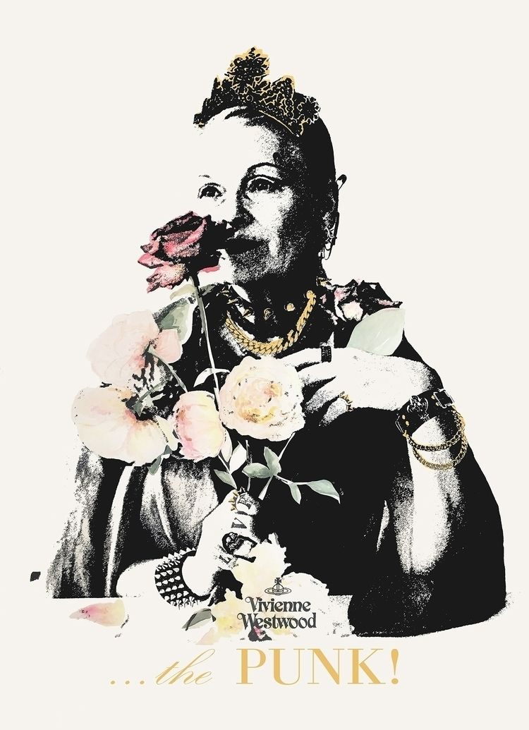PUNK...Vivienne Westood (waterc - michibroussard | ello