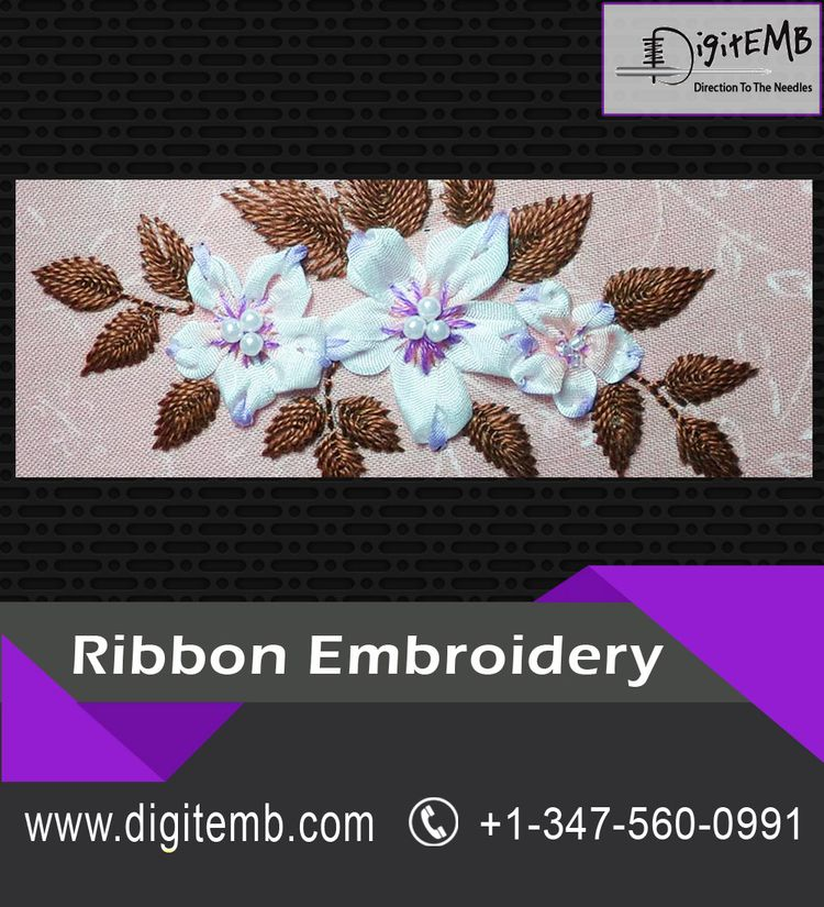 Ribbon Embroidery locality, dif - ribbonembroider | ello