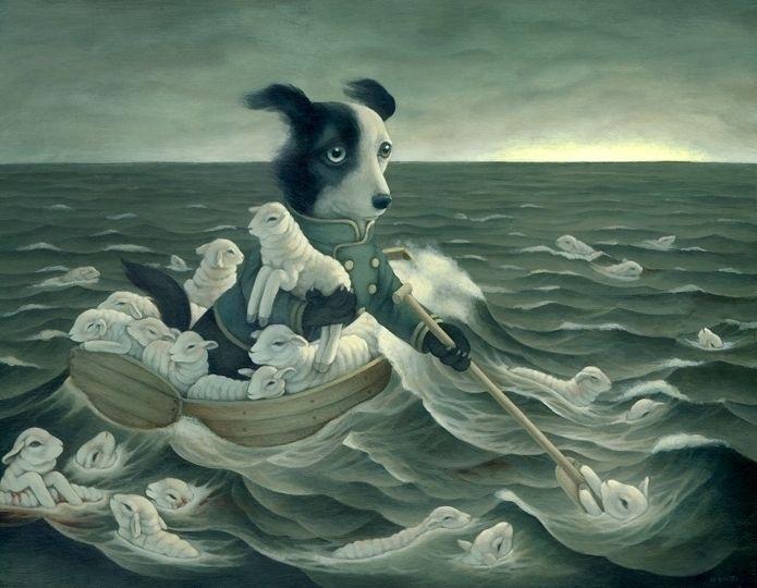 Amazing paintings form Vancouve - nettculture | ello
