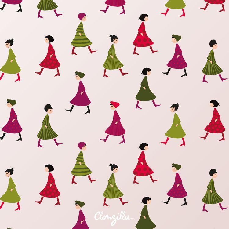 pattern, patternlover, patterndesign - clemzillu | ello