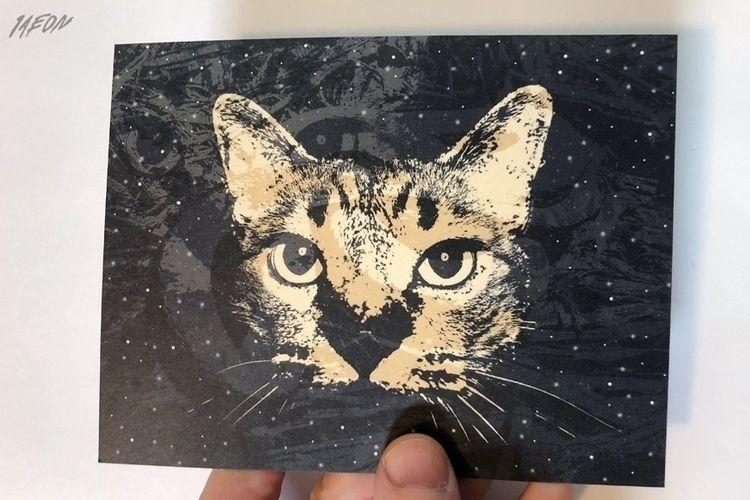 Cat foxes postcards 1Aeon - postcard - 1aeon | ello