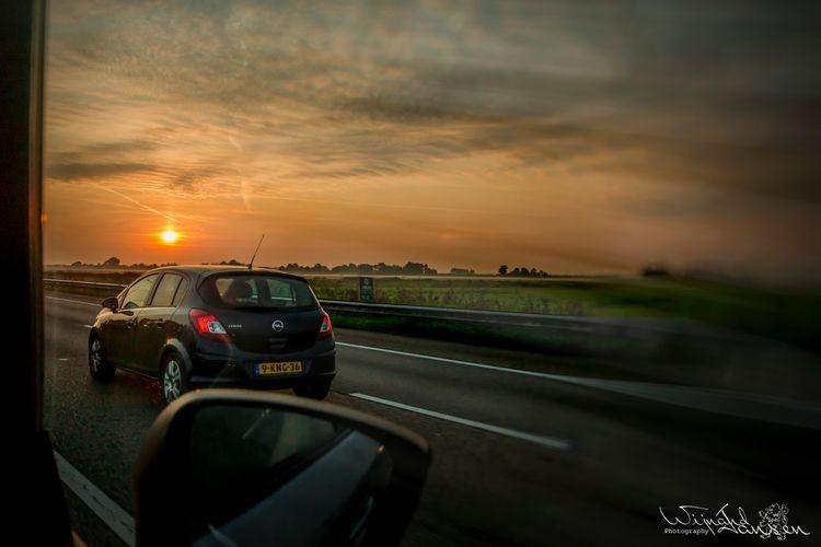 Early morning road car - artmen | ello