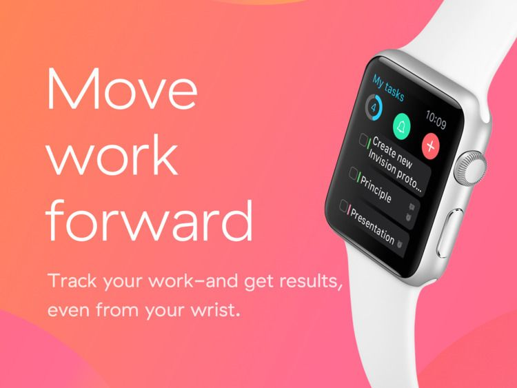 Check project Asana Apple Watch - dovhyi | ello