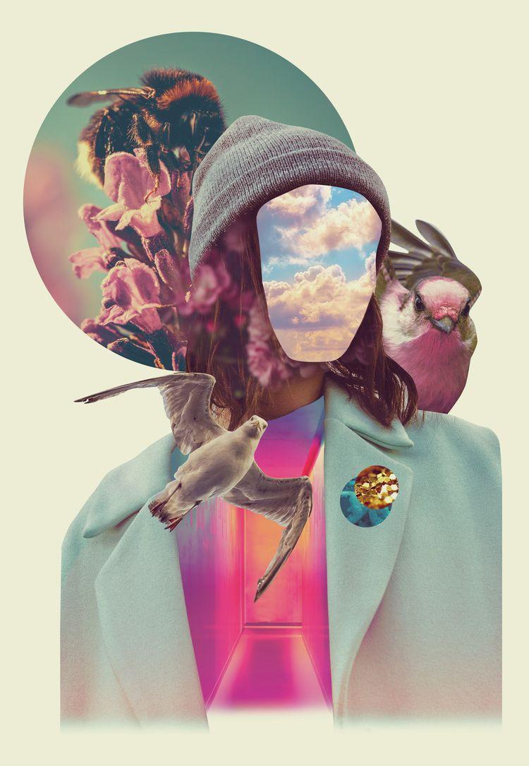 collage - digitalcollage, carolinaninoburo - carolinanino | ello
