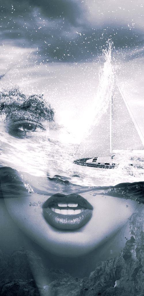 Storm sea - dreamyfaces | ello