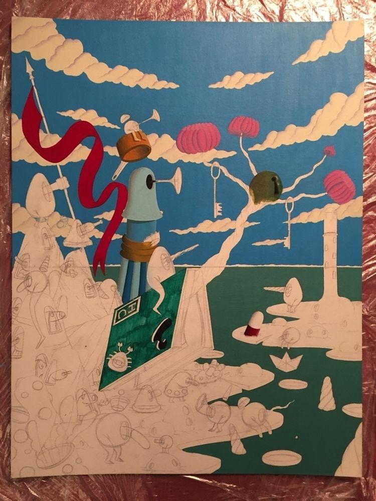 wip, progress, art, paint, painting - jimmy-p   ello