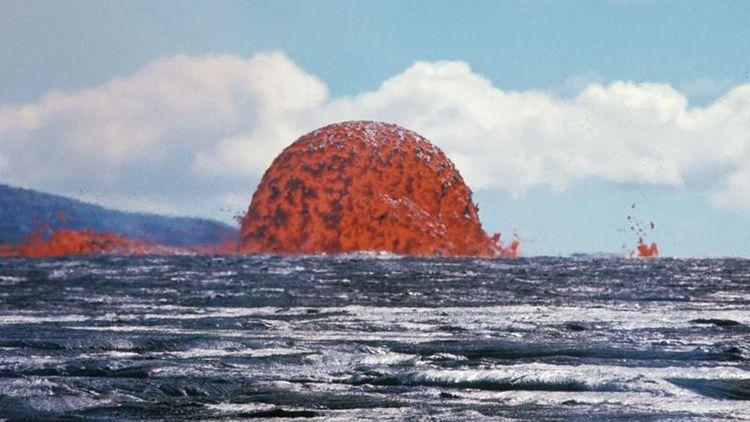 Este volcán tuvo una erupción d - codigooculto | ello