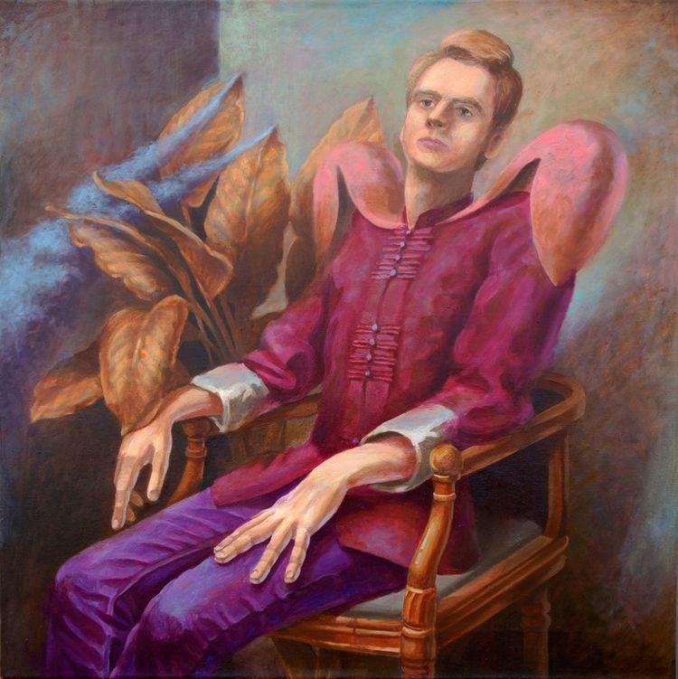 art, realism, painting, oil, canvas - mitiakrestov | ello