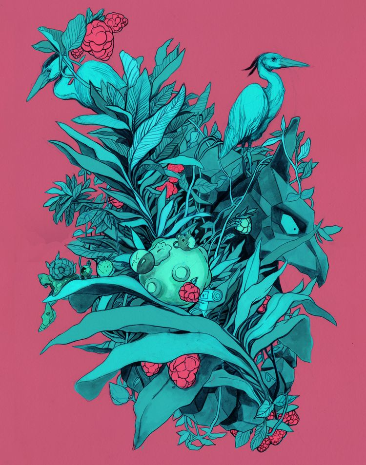 Color Rendition Hanging Fruit - tarikmask67 | ello