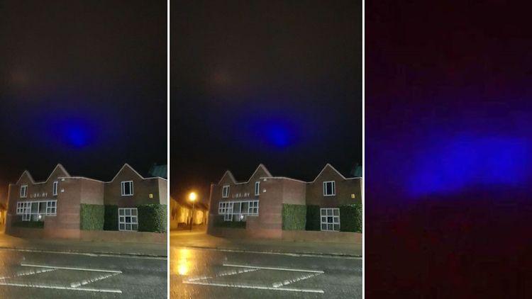 Aparecen misteriosas luces azul - codigooculto | ello