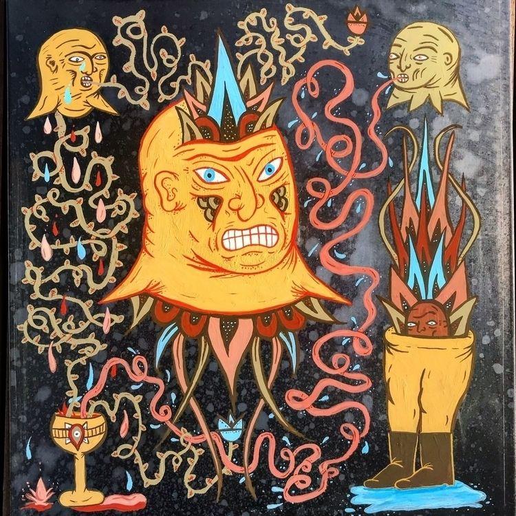 Quest - painting, illustration - jbnda | ello