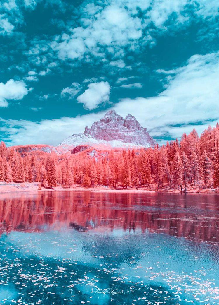 Infrared Dolomites: Dreamlike C - photogrist | ello