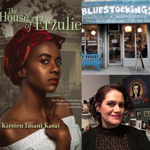 NYC 5/12/18, reading House Erzu - kirstenimanikasai | ello