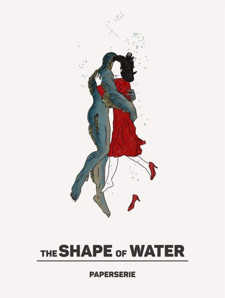 Shape Water Movie Poster - Pape - grrabbity | ello
