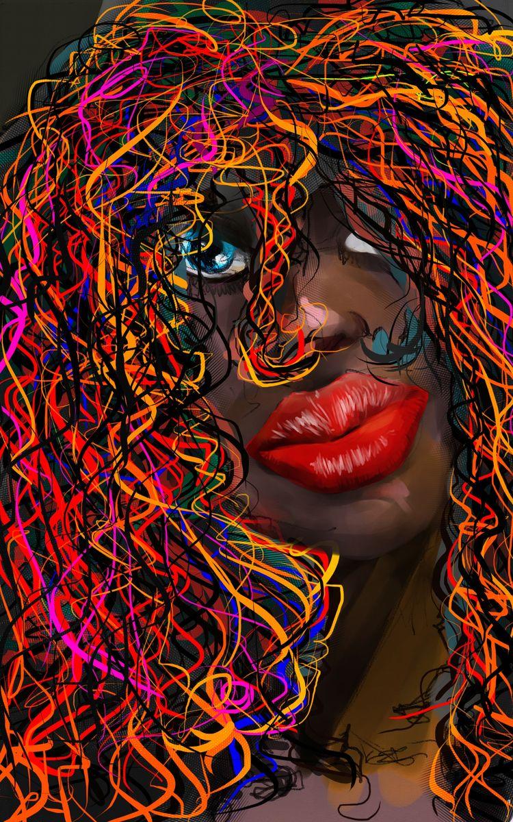 painting doodles - illustration - cjburgos | ello