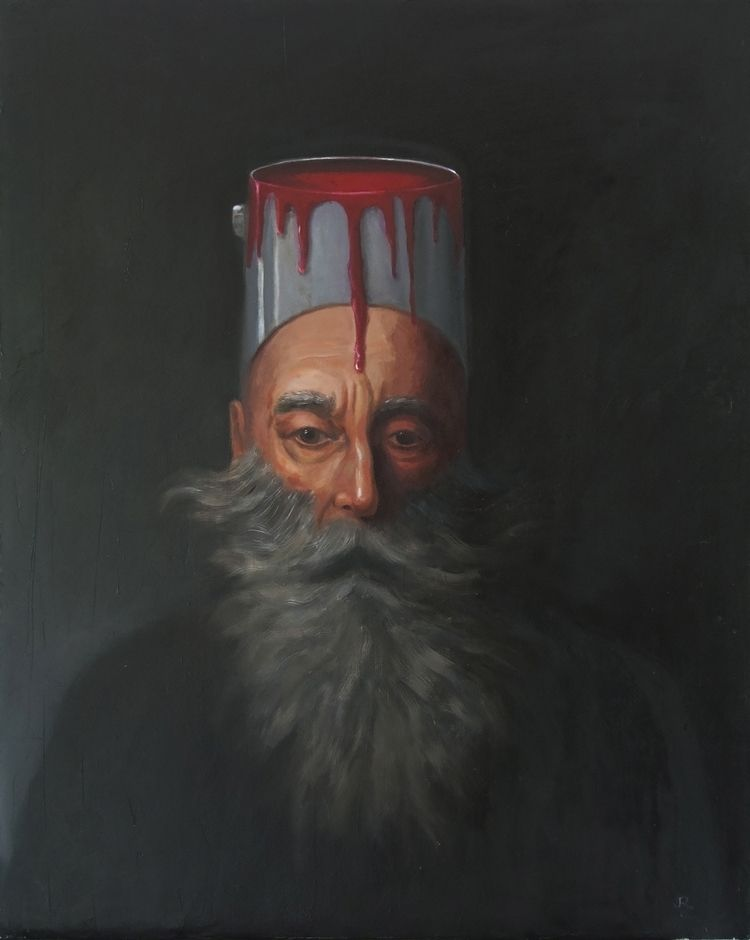 Oil Canvas. 30 22 - fineart, portrait - jackrosenberg | ello