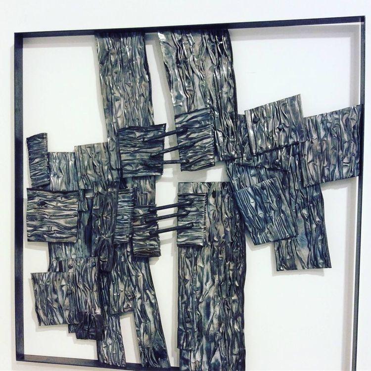 ''Squarcio'' metal wall sculptu - ferruccio-maierna | ello