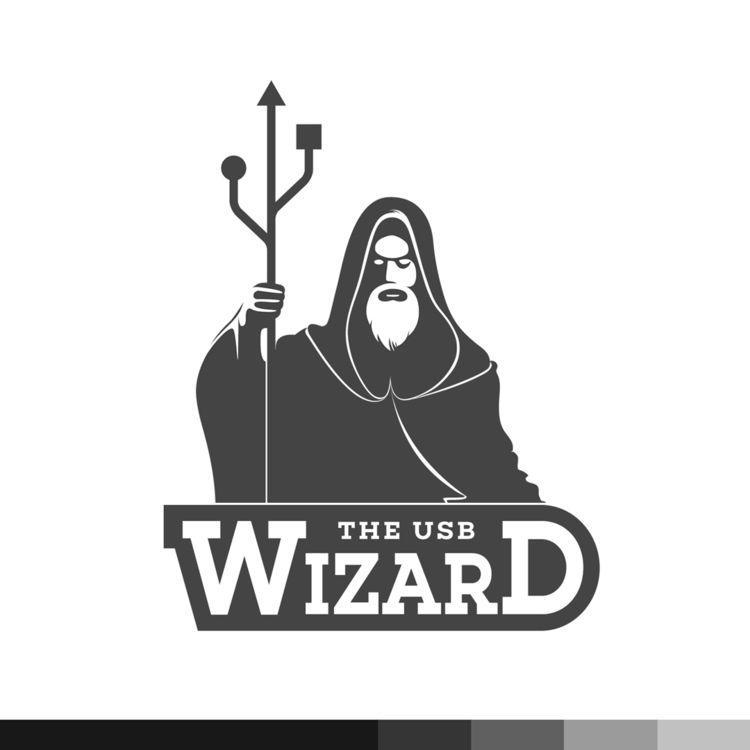 USB Wizard - logo, creative, smart - ploggeddotcom | ello