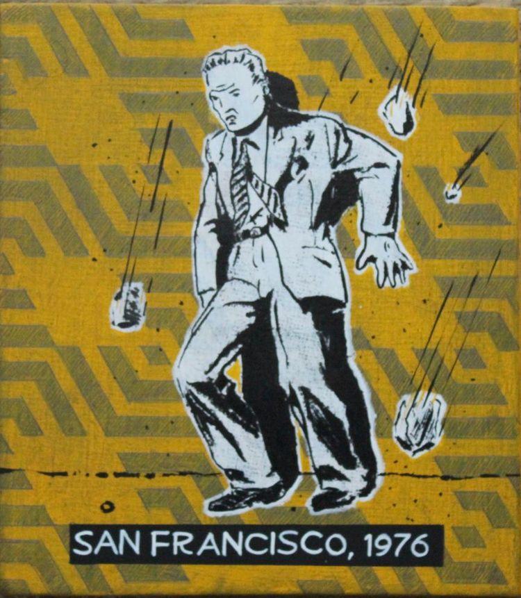 San Francisco, 1976. 2017. Acry - robsteenbergen | ello