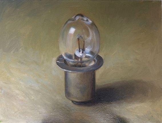 Light bulb Earring pearl Christ - darian55   ello