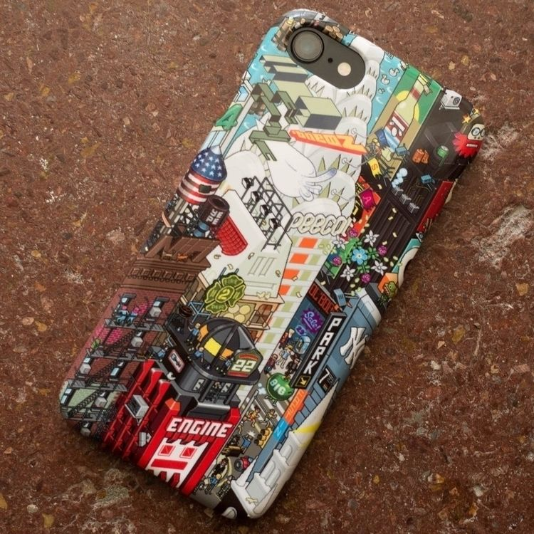 NYC iPhone Case - nyc, newyork, iphone - eboy | ello